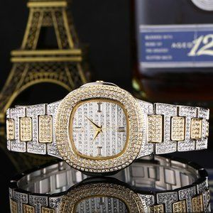 BEST PRICE*  Business Gold Luxury Iced Out…